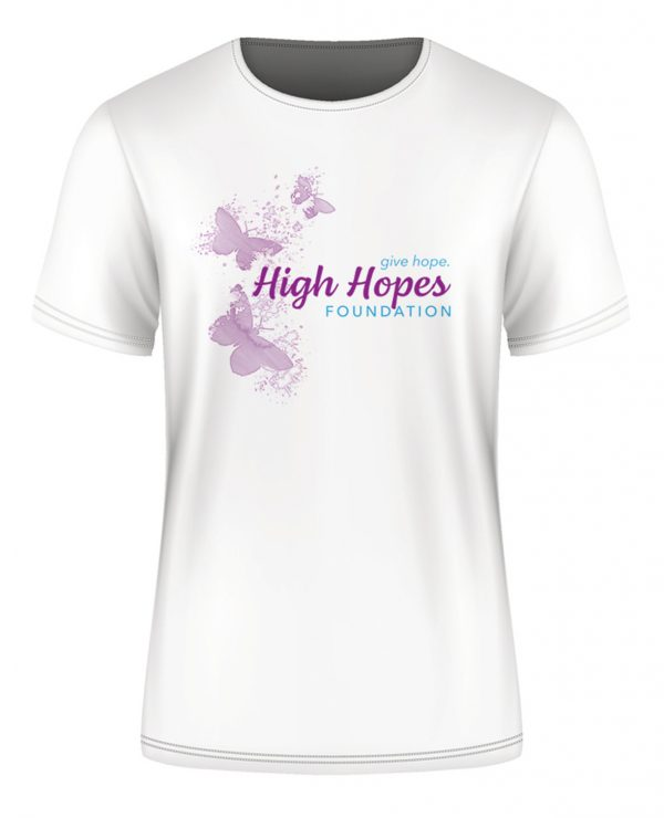 High Hopes shirt - white